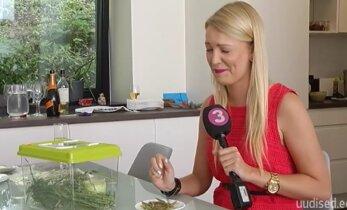 Täitsa hull peast! TV3 reporter Keili Sükijainen sõi õhtusöögiks termiite ja rohutirtse