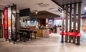 FOTOD   Kristiine keskuses avati juba teine KFC restoran