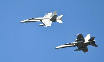 Самолеты союзников проведут тренировочные полеты в воздушном пространстве Эстонии