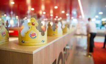 Esimesed Burger Kingi kiirtoidukohad avavad Eestis uksed järgmise aasta kevadel