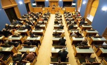Riigikogu ei toetanud Reformierakonna tööjõukriisi leevendamise eelnõud