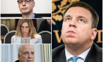 INTERAKTIIVNE GRAAFIK   Jüri Ratase esimesest valitsusest lahkus üheksa ministrit. Kuidas läheb praeguse valitsusega?