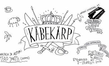 """Von Krahli Teatris tuleb lavale uus lasteetendus """"Käbekärp"""""""