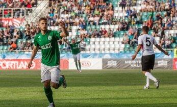 TÄISPIKKUSES: FC Flora võitis jalgpalli Meistrite liiga esimese eelringi avakohtumises Gibraltari meeskonda Lincoln Red Imps 2:1