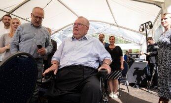 KLÕPS | Savisaare sünnipäeva väisas ka aastaid avalikkuse tähelepanu vältinud külaline