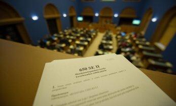 Õiguskomisjon ei toetanud kooseluseaduse kehtetuks tunnistamise eelnõu
