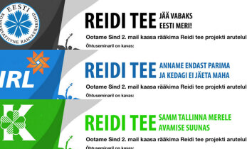 Lõbusad poliitplakatid ehk VAATA, mida võtaksid Eesti erakonnad Reidi tee ärahoidmiseks ette