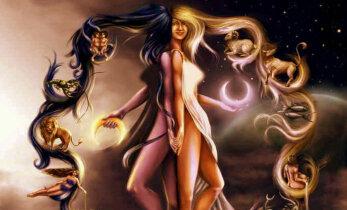 Taevas kõrgub Must Kuu: toimub uue Kuu loomine Kaalude märgis