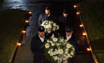 FOTOD | Mäo ausamba juures mälestati hukkunud korravalvureid