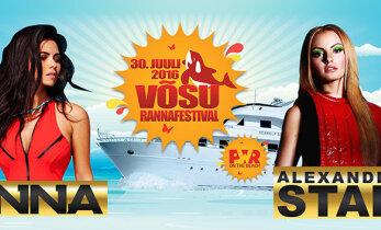Vōsu Rannafestivali peaesinejad on sel aastal Euroopa tantsumuusika poptähed