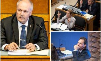 VIDEOD | Riigikogus keevad pinged. Vaata, mille üle kemplevad riigikogu esimees Henn Põlluaas ja opositsioonisaadikud