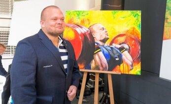 Noor kunstnik maalis olümpiaatleete: kunstil ja spordil on palju ühist