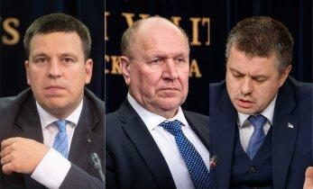 Helme riigikogu infotunnis: päästjate ja politseinike palgatõus on eelarvesse sisse kirjutatud