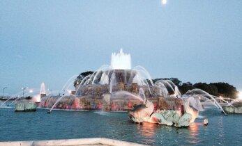 ФОТО читателя Delfi: А вы знаете, где находится Букингемский фонтан?