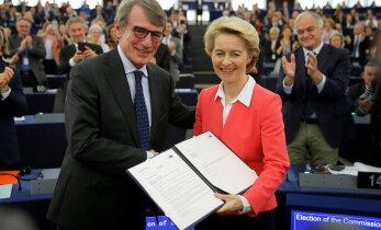 Euroopa Parlament kinnitas von der Leyeni juhitud uue Euroopa Komisjoni ametisse