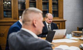 FOTOD | Trall põhiseaduskomisjonis jätkub ka täna. Kaja Kallas: tõenäoliselt tuleb välja vedada hilisõhtuni