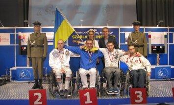 Aleksei Štšeglov MK-etapi autasustamisel