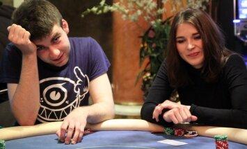 Uku Valner ja Kene Vernik pokkeriturniiril PokerNews Live, foto Herli Olop, PokerNews.ee