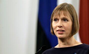 Soomest Riiga sõitnud Kaljulaid rahustas lätlasi: ma ei saa olla kahes kohas korraga