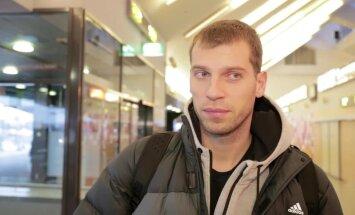 DELFI VIDEO: Himki raudvara Sergei Monja: Kaleviga pole lihtne, Tallinna mängudes on alati olnud kõva võitlus