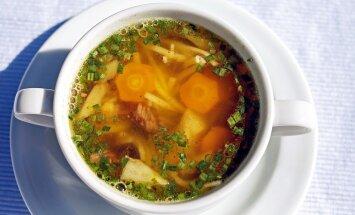 RETSEPTID   Soojendavaid suppe vanaema kokaraamatust