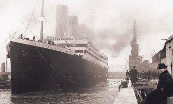 Teooria: Titanicu hukutas põlengust rabedaks muutunud kere