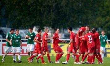 Jalgpall Narva Trans vs Levadia