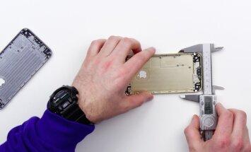 Uue iPhone'i kere on sama suur nagu eelmisel.