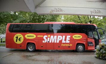 Simple Express värvib bussid punaseks ja avab uue liini