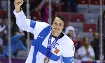 Selänne valiti olümpia hokiturniiri väärtuslikuimaks mängijaks