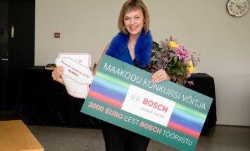Konkursi võitja Sigrid Absalon