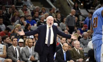 Gregg Popovich ja LeBron James tegid öösel NBA ajalugu