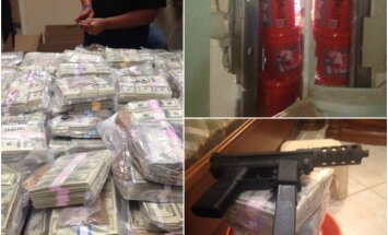 FOTO: Miamis leiti reidi käigus maja seina seest 20 miljonit dollarit, omaniku sõnul on raha ausalt teenitud