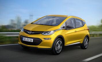 Opel esitleb Pariisi autonäitusel kauaoodatud elektriautot Ampera-e