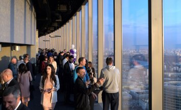 В Москве открыли самую высокую смотровую площадку Европы