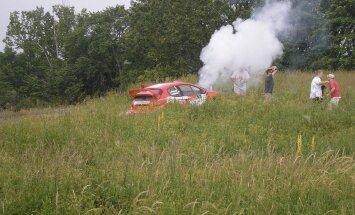 Sebastian Lindholmi traagiline väljasõit 2009. aasta Lõuna-Eesti rallil