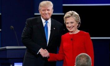 Ajalooline debatt: Trump: Hillaryl ei ole väljanägemist, tal ei ole sitkust. Clinton: see on mees, kes on nimetanud naisi sigadeks, koerteks ja kaltsakateks