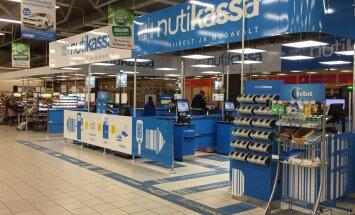 """В Ласнамяэ открылся обновленный гипермаркет с гибридной """"умной"""" кассой"""