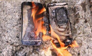 Midagi teadlastelt: Telefoniaku saab kaasa väikese tulekustuti