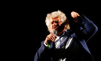 Viie Tähe Liikumise asutajakoomik Beppe Grillo teab, kuidas oma häält nii laval kui ka internetis kuuldavaks teha.
