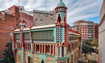 В Барселоне открыли для посетителей первый дом Гауди