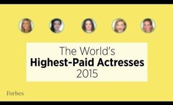 TOP 5: Noor naisnäitleja tegi legendaarsetele telenägudele pika puuga ära! Need on enimteenivad näitlejannad aastal 2015