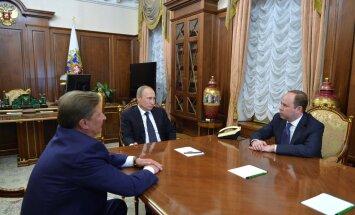Putin, Ivanov, Vaino