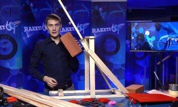 Rakett69 VIDEO: Puust ette ja punaseks! Kuidas ehitada katapulti?