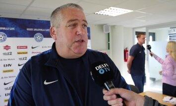 DELFI VIDEO: Keith Boanas: osad kohvikupidajad ei andnud häid jalgpallureid meile Inglismaa mänguks vabaks