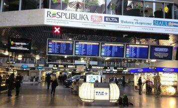 Аэропорт Вильнюса закроется на ремонт