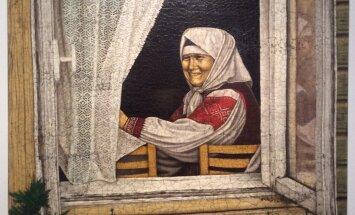 Toomas Kuusingul on terve seeria portreid Setomaa inimestest.