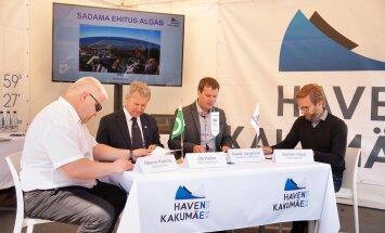 vasakult Neeme Kaarma, Ott Kallas, Marek Jürgenson, Sander Kaus