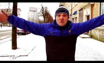 """Автор песни """"Я русский"""" Евгений Ляпин получил благодарность из Рийгикогу"""