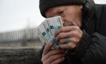 pensionär, rubla